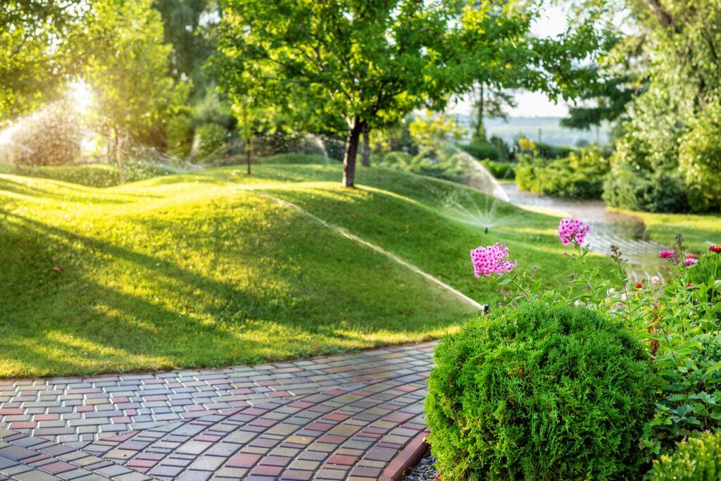 Landscaping Irrigation in Burlington, Iowa